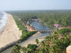 A view of Payyambalam Beach