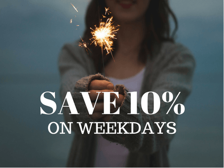 Flat 10% Discount on Weekdays at ReginaSilva
